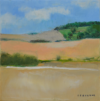 Chaumes, H S/toile, 40X40 Cm