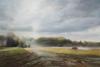 Dijle Wandeling Xv - De Egger, 2015, Acrylique S/ Toile, 55X110Cm