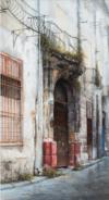 Passeggiata Per Palermo I, 2014, Acrylique S/toile