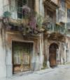 Passeggiata Per Palermo Iv, 2014, Acrylique S/ Toile, 90X80Cm