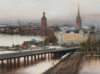 Tunnel In Stockholm, 2013, Acrylique S/Toile