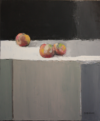 Trois Fruits, Huile S/Toile, 65X54Cm