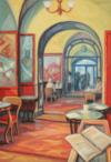"""""""café Greco"""", 2014, 65X45 Cm"""