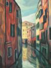 """""""Canal À Venise"""", 2015, 80X60 Cm"""