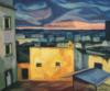 """""""Nocturne À Ostuni"""", 2015, 55X85 Cm"""