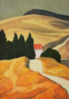 """""""Paysage Des Appenins"""", 2014, 55 X 40 Cm"""