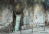 'Ergens Onderweg In Alfama', 2014, Acryl S/toile, 60X60 Cm