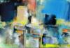 """""""la Part D'ombre"""", 75X110Cm, Acrylique Sur Toile"""