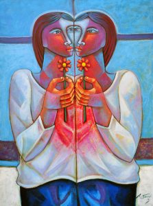 """""""Espelho meu"""", 80x60, 2013"""
