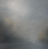 « Phares Dans La Brume », Huile S/Toile, 100 X 100 Cm