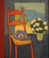 La Chaise Au Chapeau Fleuri