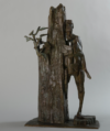 «Espoir», Bronze, 43X24 Cm