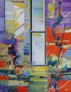 """""""l'atelier"""", 2014, H S/t, 81X65Cm"""