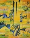"""""""tableau Jaune"""", 2013, H S/t, 55X46 Cm"""