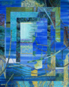 """Jardin Bleu"", 2014, H S/T, 73X60Cm"