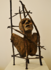 La Condition Humaine, Bronze,65Cm
