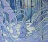 L'esprit De La Forêt En Hiver, H S:toile, 70X80 Cm