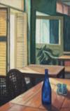 Interieur Au Café Hemingway, 55 X 35, 2016