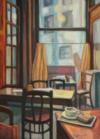 Café La Morte Subite, 55 X 40, 2017