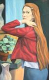 La Fille Aux Longues Cheveux, 80 X 50, 2016