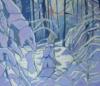 """Joly, """"Paysage D'hiver"""""""