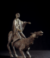 Cavalier Agenouillé, Bronze