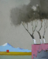 Philippe Dequesne_Trois Arbres En Terrasse (65X54)