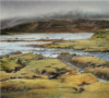 Ierse Zuidkust, Acryl, 2020, 90X100Cm