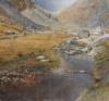 Glendalough Upperlake Ii, Acryl, 2019, 70X75Cm