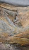Glendalough Upperlake Iii - Ierland, Acryl, 2019, 110X65Cm