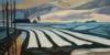 Cugia Paysage Hivernale, 60 X 120, 2017