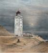 Vangrieken_Rubjerg Knude – Denemarken, Pastel, 2018, 69X63